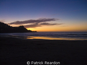 Sunset image taken on the beach near Pacifica, California. by Patrick Reardon 